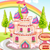 Princess Castle Cake ..